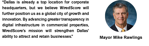 Mayor Mike Rawlings endorses Wired Certification's launch into Dallas