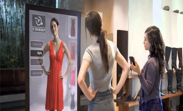 Virtual mirrors could impact retailers which adopt 5G
