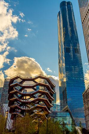 The Vessel at Hudson Yards in New York City